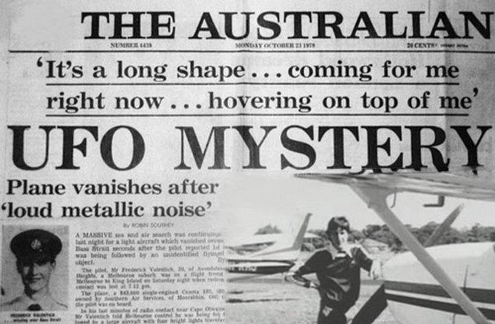 Странные исчезновения самолетов с одновременным наблюдением НЛО  (2 фото)