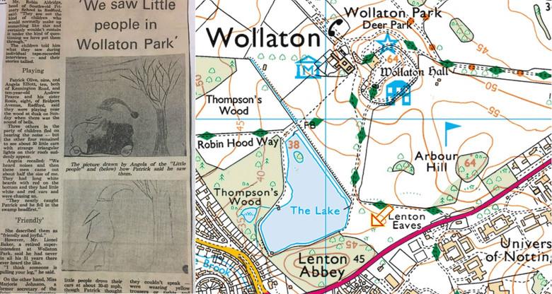 """40 лет назад дети встретили в британском парке маленьких """"гномов"""" (3 фото)"""