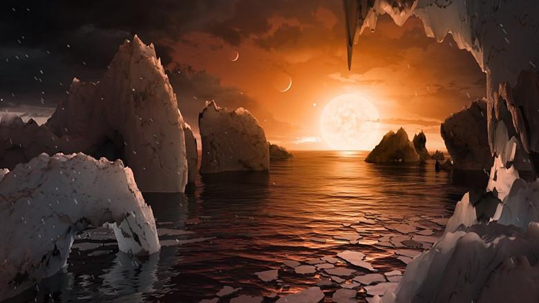 """Астрономы заявили об открытии семи новых """"аналогов Земли"""" (3 фото)"""
