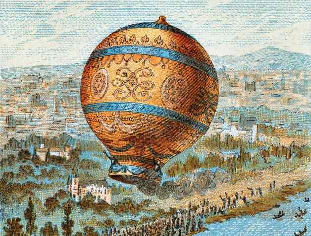 Неопознанные шары в небе Российской империи (2 фото)