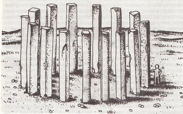 """""""Полярный Стоунхендж"""": Загадка мегалитов на реке Усе (3 фото)"""