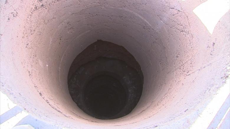 Американка нашла странную дыру, которую удивительно быстро уничтожили представители власти (4 фото)
