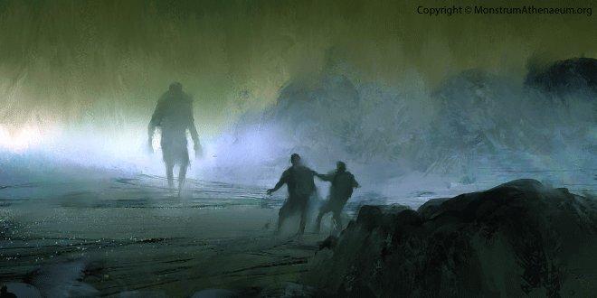 Серый призрак шотландской горы Мак-Дуй - горский ужас