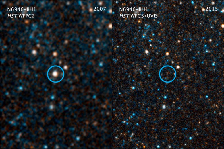Астрономы заявили о внезапном исчезновении звезды
