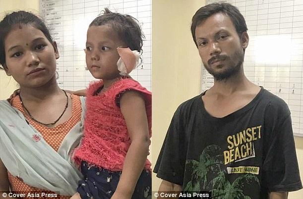 В Индии отец отрезал уши дочери потому, что так ему приказал призрак
