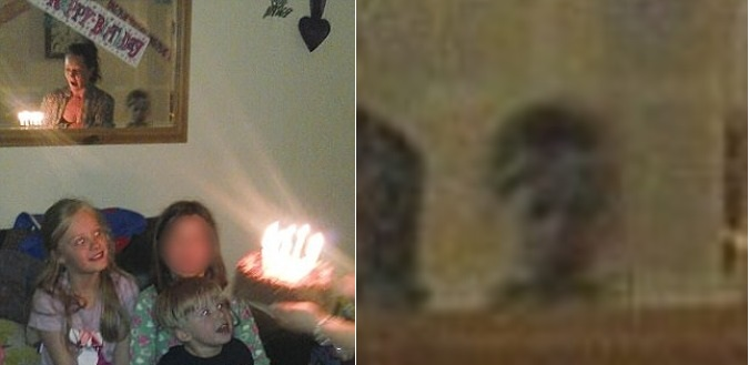 В Уэльсе на день рождения к девочке пришел мальчик-призрак