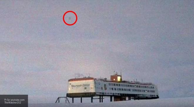 Над немецкой антарктической станцией Neumayer III летал шар-НЛО