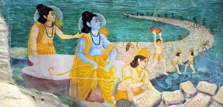 """Индийские археологи хотят изучить таинственный """"Адамов мост"""", чтобы узнать рукотворный ли он (2 фото)"""
