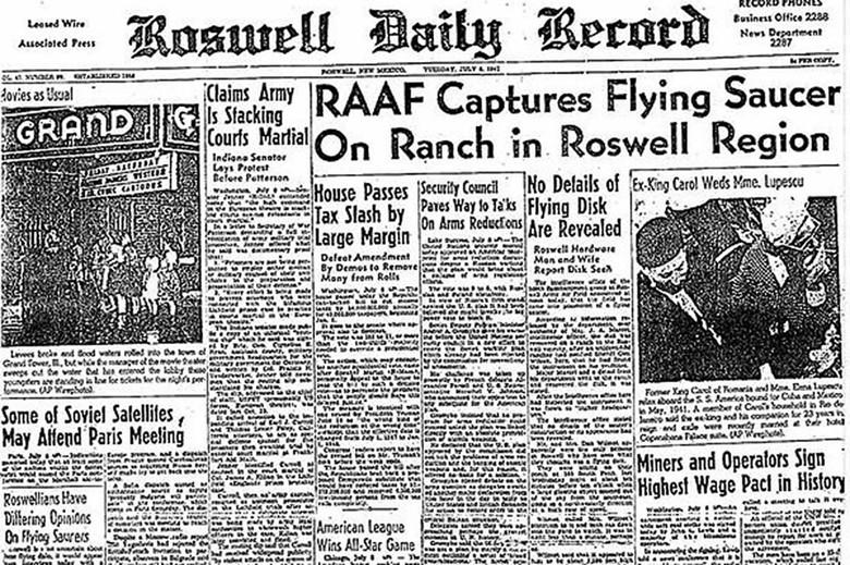 70 лет вместе: юбилей современной истории НЛО (7 фото)