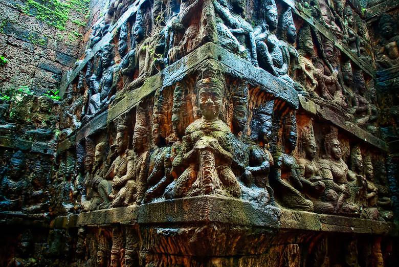 Тайны Ангкора (9 фото)