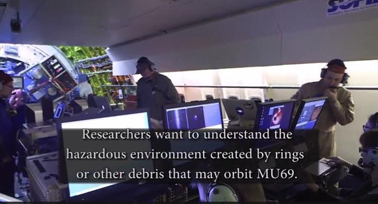 На видео от НАСА, снятом на борту летающей обсерватории, заметили странную руку. Инопланетянин? (4 фото)