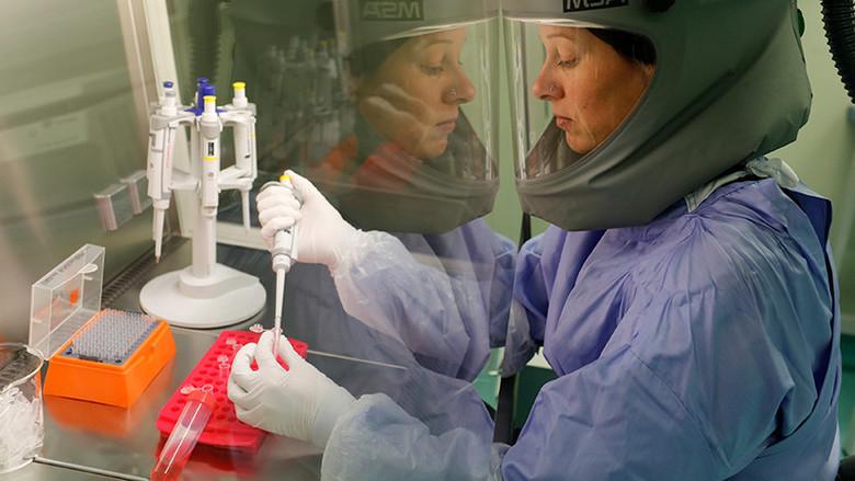 В США разрабатывают биологическое оружие против жителей России? (4 фото)