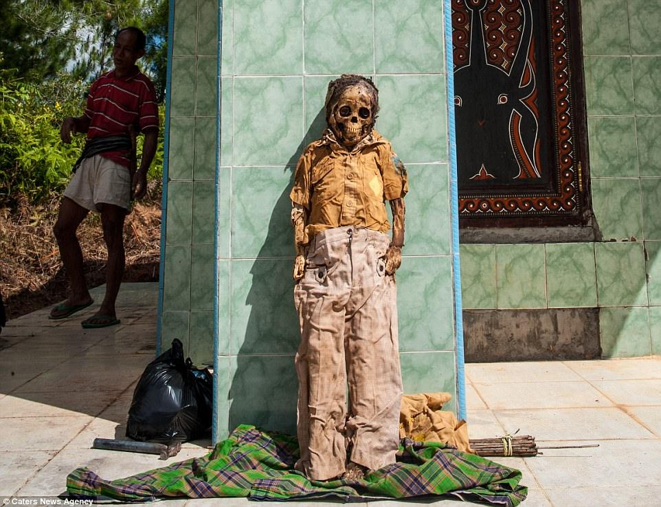 """Индонезийский народ тораджи провел очередной праздник """"выгула"""" мертвецов"""