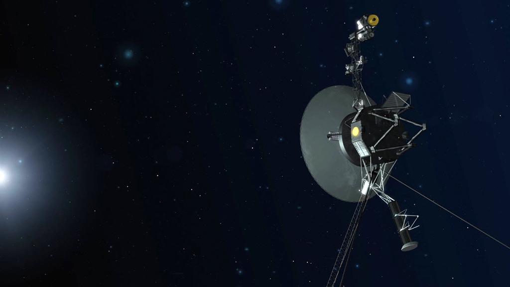Вот уже 40 лет как «Вояджер 1» летит где-то в космосе