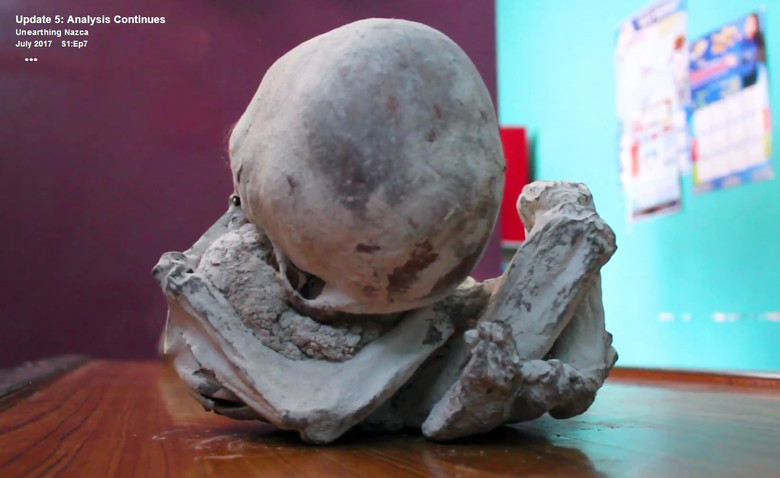 В Перу найдена мумия настоящего инопланетянина? S97392831