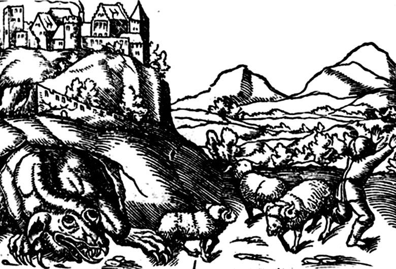 Самые знаменитые драконы из древних легенд и преданий (14 фото)
