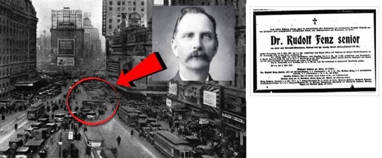 Заблудившийся во времени: Странная история Рудольфа Фенца (2 фото)