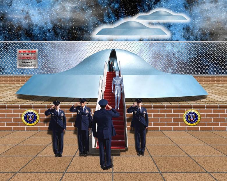 ООН и пришельцы (4 фото)