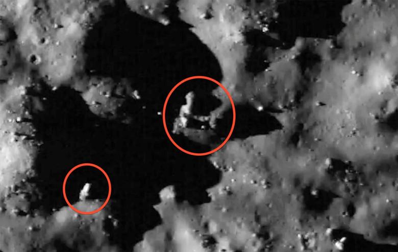 """""""Там явно кто-то есть"""": Загадка световых явлений на Луне (6 фото + видео)"""