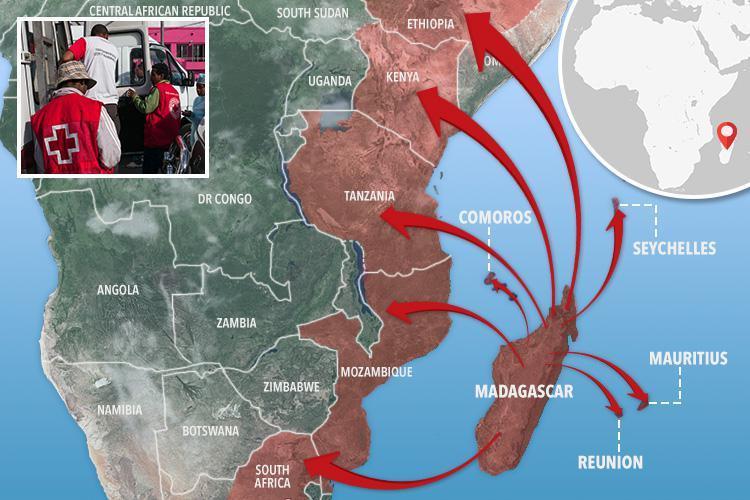 Вспышка чумы уже убила на Мадагаскаре свыше 120 человек