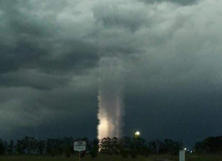 Загадочный феномен попал на фото в Аргентине. Сбой Матрицы или редкое природное явление?