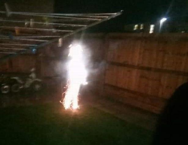 Женщина увидела в огнях фейерверка своего погибшего в младенчестве сына