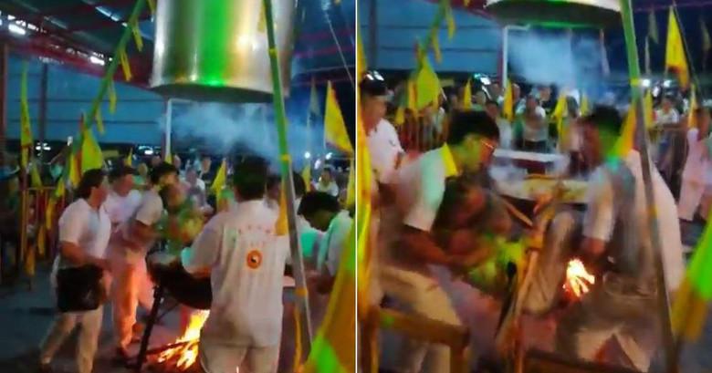 В Малайзии даосский гуру заживо сварился, пытаясь доказать свою неуязвимость (2 фото)
