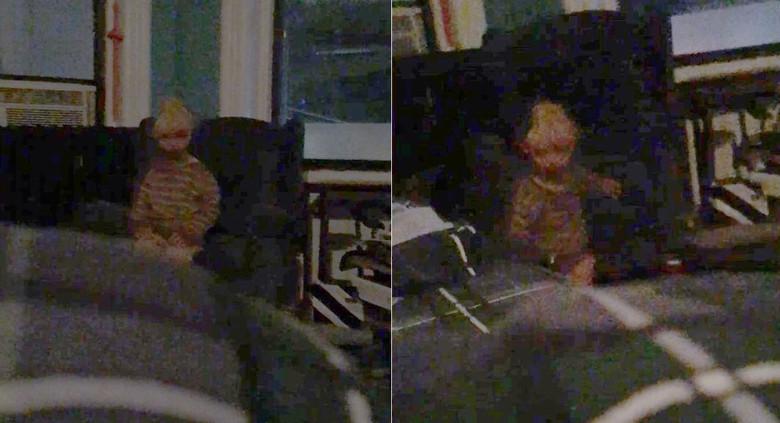 Житель Нью-Йорка уверяет, что сделал фото мальчика-призрака, который уже давно его преследует (4 фото)