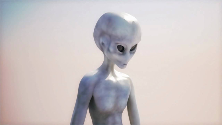 """I saw a little alien in the basement of my school when I was a kid"""