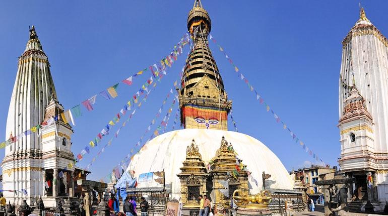 Непальский холм Сваямбунатх это древняя посадочная площадка кораблей пришельцев?