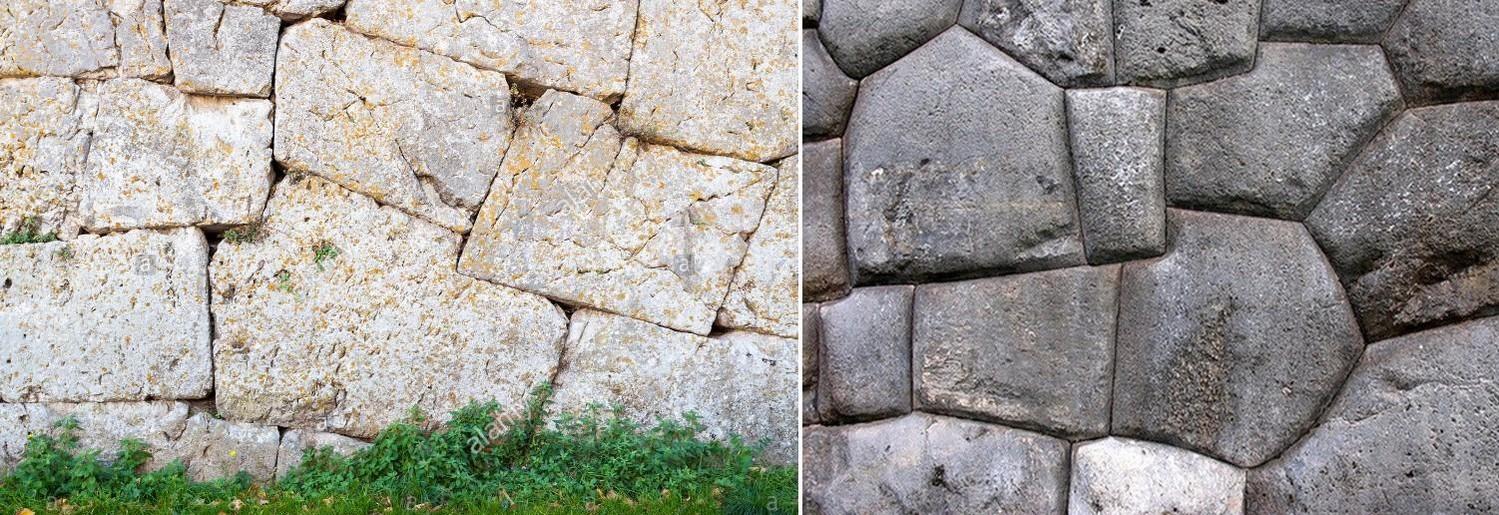Древние циклопические каменные кладки в Италии