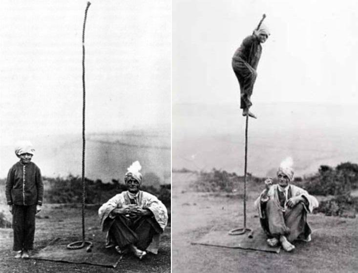 Тайна индийского трюка с веревкой