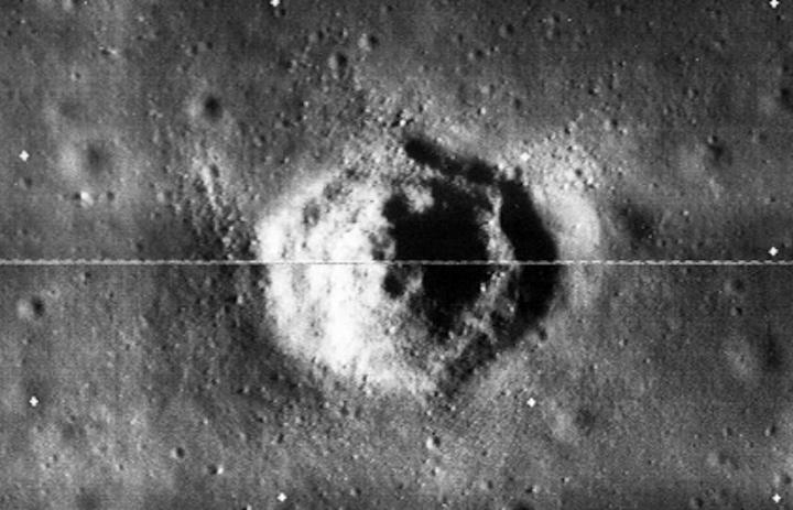 На старом фото Луны нашли равносторонний шестиугольник