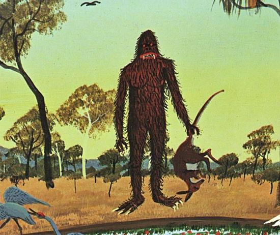Неопознанный крупный хищник напал на цесарок в прибрежном районе Австралии