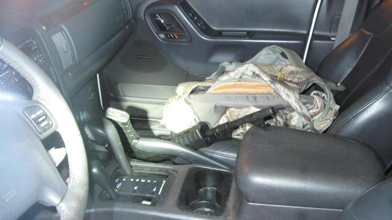 """В Вашингтоне полиция задержала вооруженного мужчину, который ехал """"сражаться с людьми-ящерами"""" (2 фото)"""