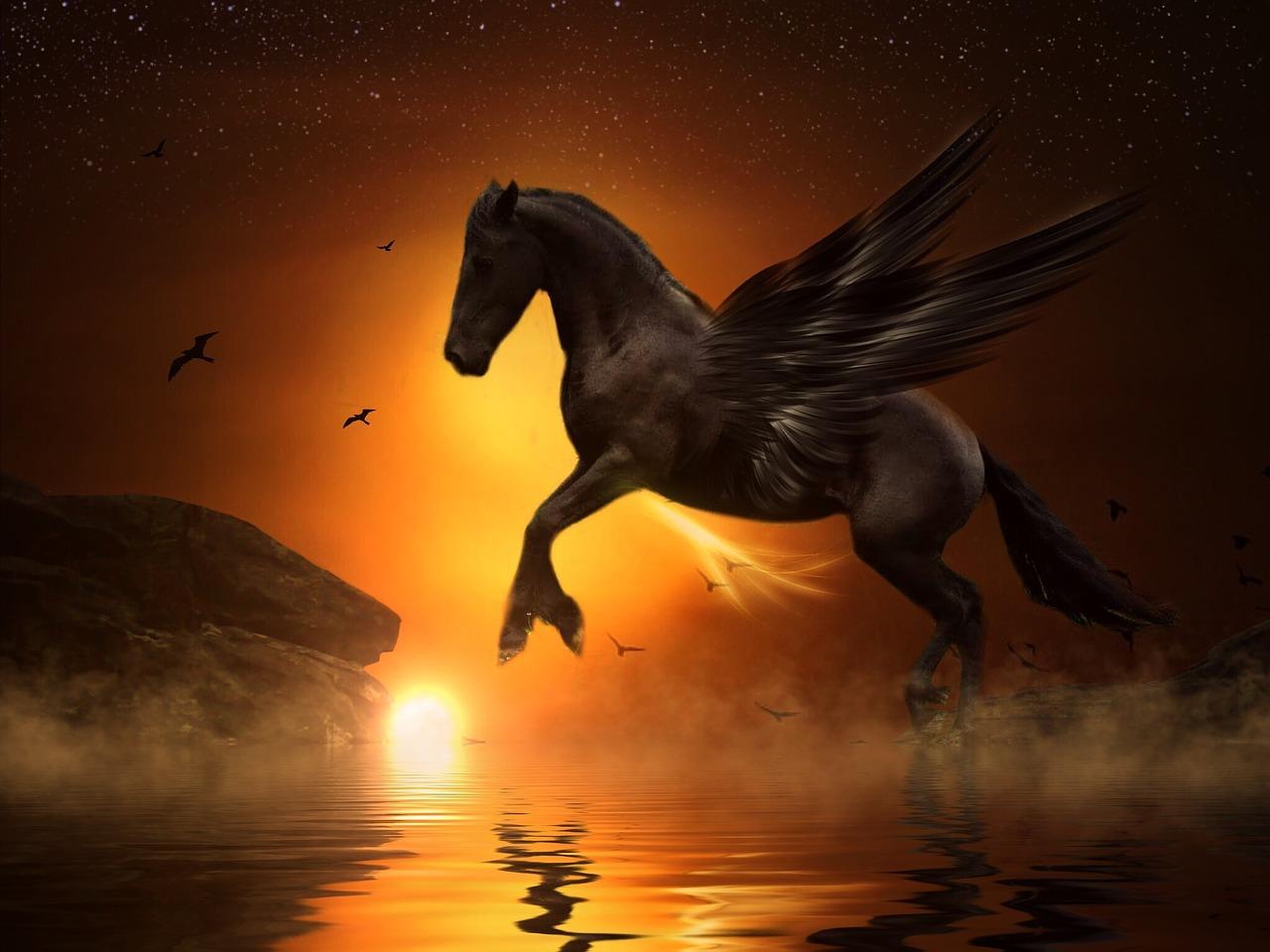 Что стоит за образом летающих коней из древних легенд и сказок