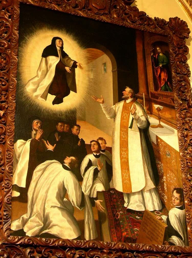 Левитация святой Терезы из Авилы