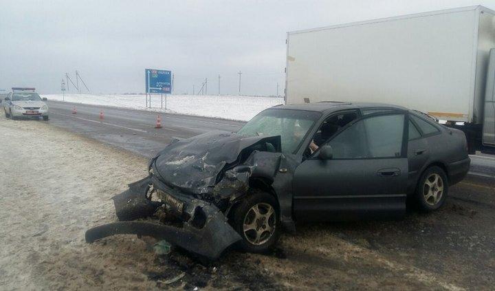 В Белоруссии семья ехала снимать порчу и попала в аварию