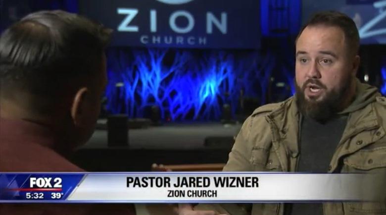 В Мичигане мужчина ночью расстрелял церковь, уверяя, что там укрываются рептилоиды