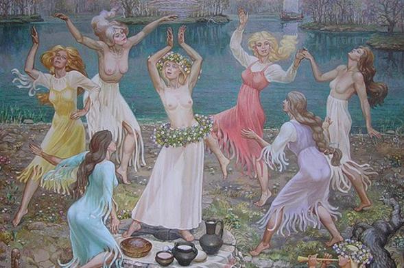 Славянская магия обнаженного тела