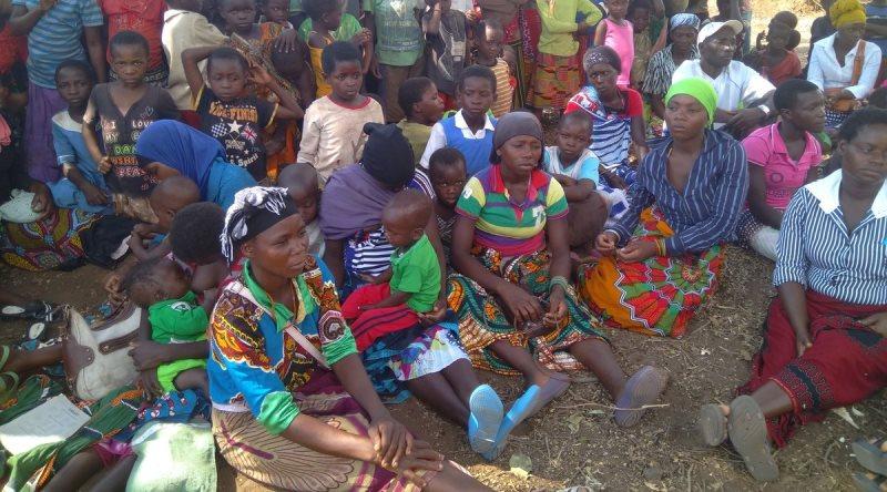 """В Малави жителей района охватила паника из-за """"пророчества о каше"""", высказанном новорожденным ребенком"""