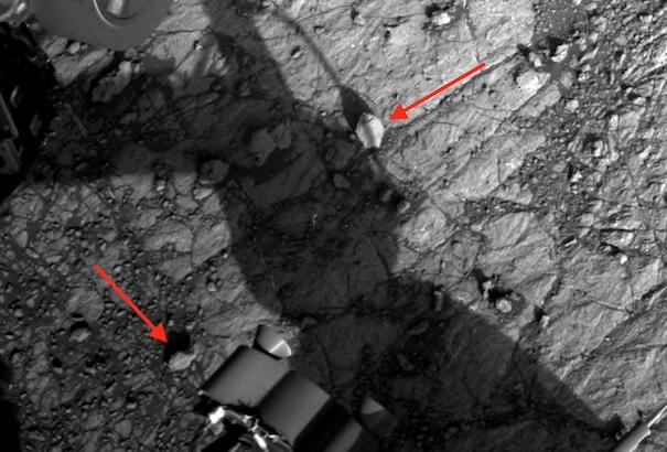 New discoveries on Mars: Seashells 2