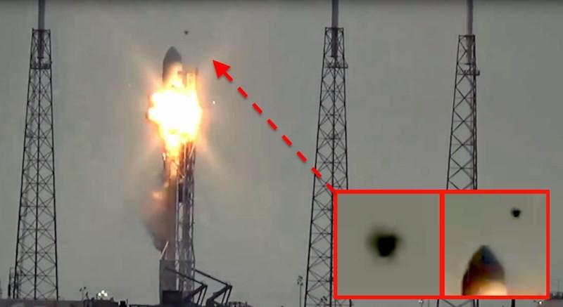 НЛО следят за всеми важными военными объектами