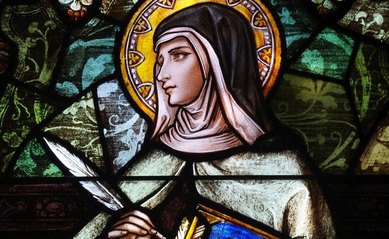 Левитация святой Терезы из Авилы (3 фото)