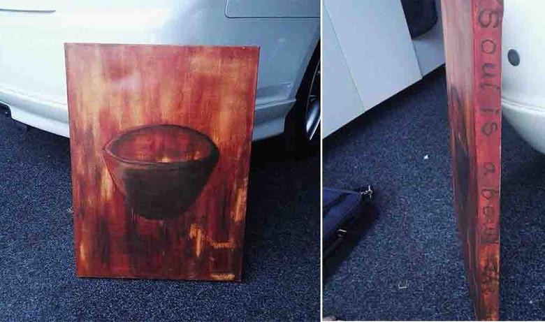 В Новой Зеландии продают картину, которая вызвала паранормальную активность в доме