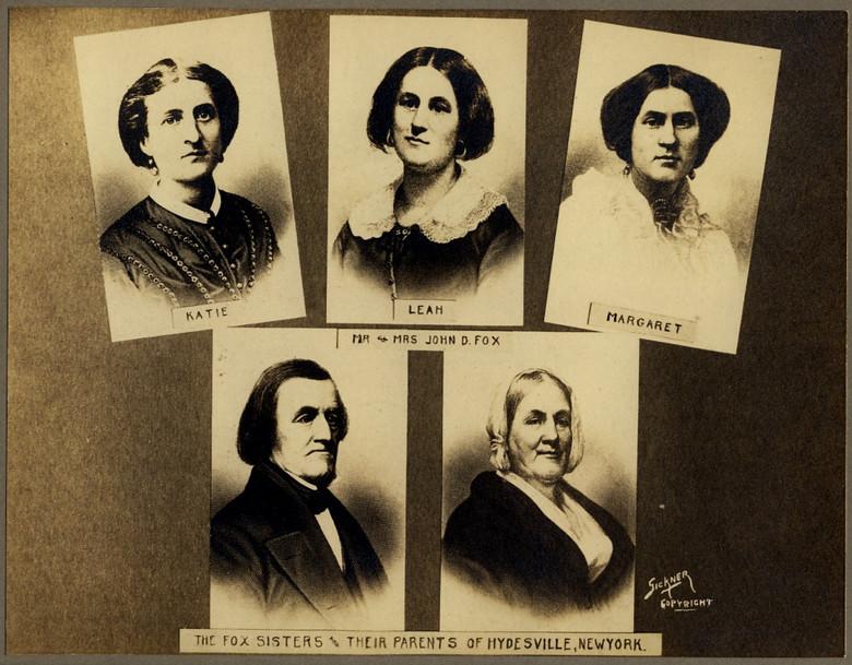 Нечистая сила в Гайдсвиле и Стратфорде или с чего началось массовое увлечение спиритизмом в 19 веке (4 фото)