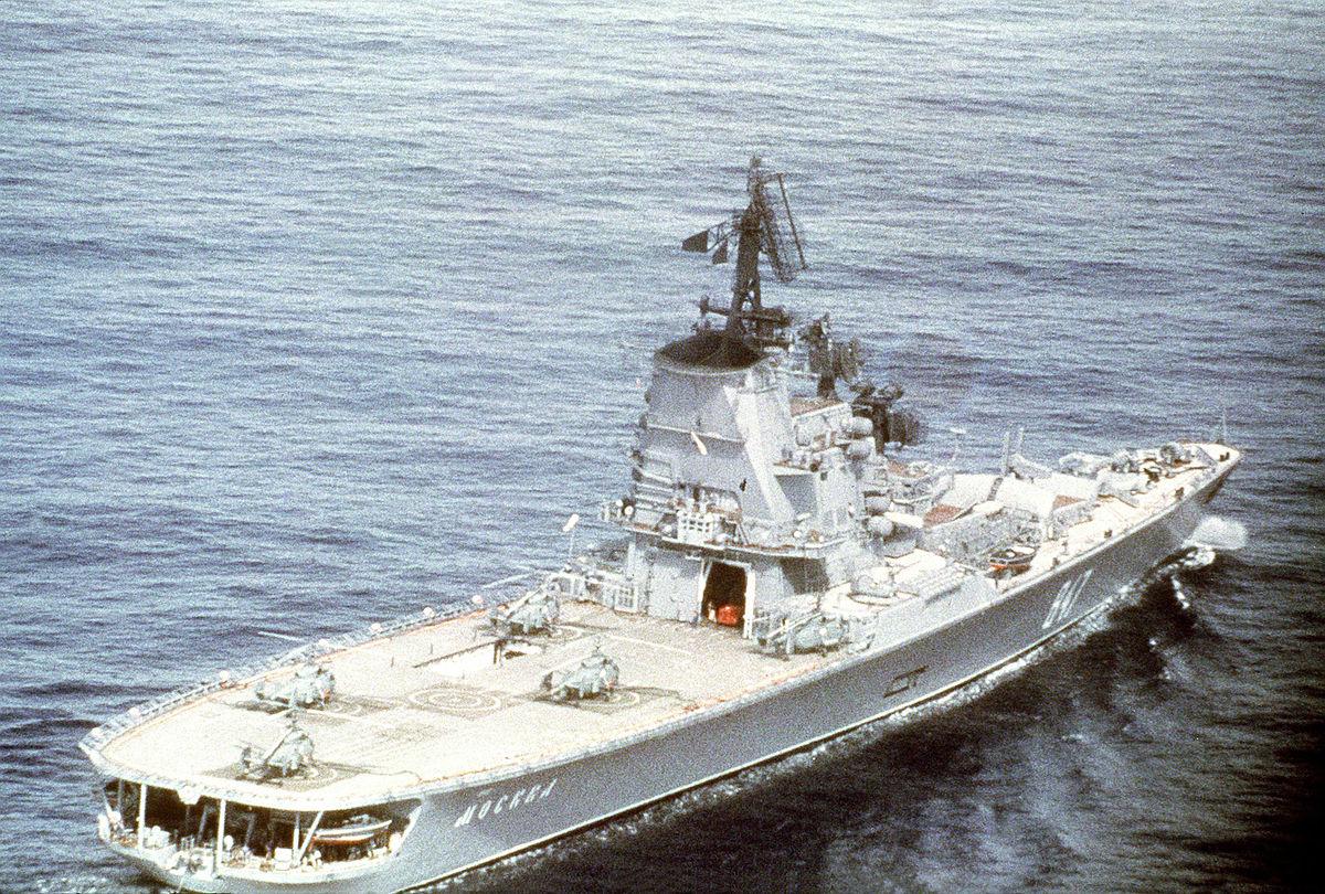 """Несчастья, преследовавшие корабли с названием """"Москва"""""""