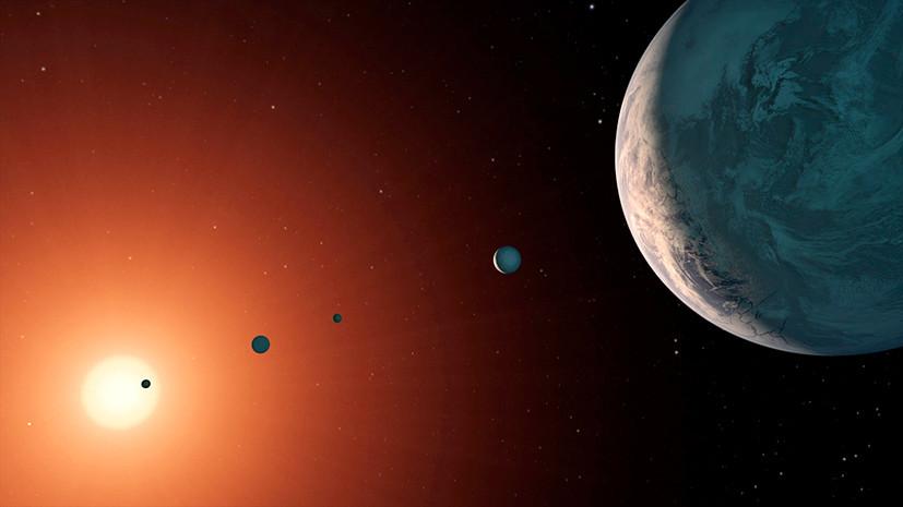 В системе TRAPPIST-1 обнаружили две пригодные для жизни планеты