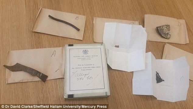 Обломки упавшего миниатюрного НЛО десятки лет хранились в британском музее