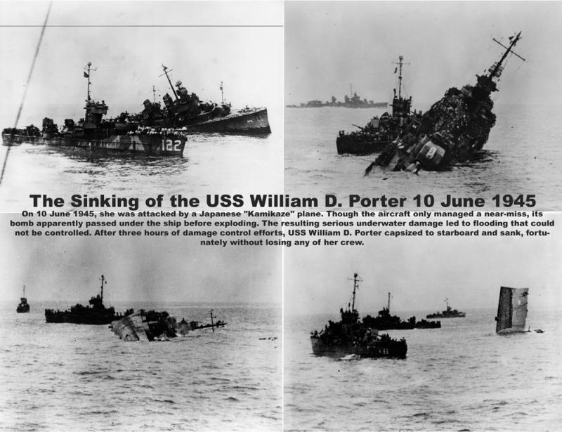 Мистически невезучий американский эсминец «Уильям Д. Портер»